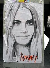 Pasted paper by Konny [Paris 4e] (biphop) Tags: streetart paris france pasteup collage paper europe wheatpaste pasted marais konny wheatpaper