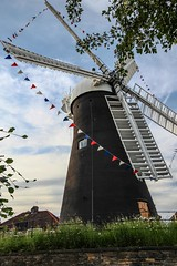 Holgate Windmill - decorated for the Tour de France (8)