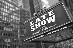 Late Show with David Letterman (jarrett45frazier) Tags: nyc ny newyork television sign manhattan broadway lateshow latenight cbs davidletterman