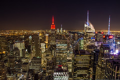 Top Of The Rocks (krongy) Tags: longexposure newyork skyline night cityscape rockefellercenter rockefeller
