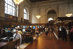 NY Public Library (A7design1) Tags: new york city nyc ny newyork streets classic public america us manhattan library text nypl books read study classical tradition ghostbusters textbook 図書館 ニューヨーク rosemainreadingroom