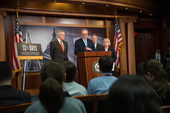 "Senate Democrats Calls On House Republicans To Act On Immigration Reform • <a style=""font-size:0.8em;"" href=""http://www.flickr.com/photos/32619231@N02/14245417604/"" target=""_blank"">View on Flickr</a>"