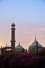 Exterior view of Jama Masjid (Javed Sultan) Tags: sunset india silhouette persian delhi muslim great culture mosque architecure jamamasjid shahjahan mughal