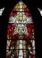 Christ & Angels (Aidan McRae Thomson) Tags: church window leicestershire stainedglass artscrafts queniborough theodorasalusbury