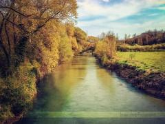 Aniene (in eva vae) Tags: italy tree water colors photoshop vintage river eva emotion crossprocess fiume curves paesaggio textured lightroom inevavae