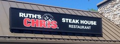 Ruth's Chris Steak House Restaurant, Ruth's Chris Steakhouse Sign logo, pics by Mike Mozart of TheToyChannel & JeepersMedia onYouTube. #RuthsChrisSteakHouse #RithsChrisRestaurant #RuthsChrisSteakhouseSign #RuthChris #Ruths #Chris #SteakHouse #Restaurant (JeepersMedia) Tags: chris restaurant steakhouse ruthschrissteakhouse ruths ruthchris rithschrisrestaurant ruthschrissteakhousesign