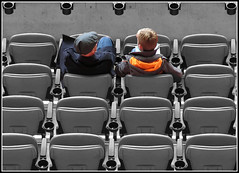 Cup holders (davekpcv) Tags: wembley footballfans footballstadium cupholders
