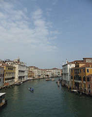 like in the movies but better (dreamy-chloe) Tags: city sea italy mer buildings boats canal europe grand lagoon bateaux sight venise venezia vue italie lagon immeubles btiments