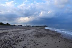 Stormy Eve - Explored (EJ Images) Tags: uk england sky slr beach clouds evening coast suffolk nikon explore coastal dslr eastanglia lowestoft 2014 nikonslr d90 flickrexplore nikondslr pakefield explored dsc0808 suffolkcoast nikond90 suffolkcoastal pakefieldbeach 18105mmlens ejimages