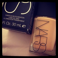 Day 86 of #100happydays - new NARS (_molly_) Tags: square makeup squareformat punjab cosmetics nars iphoneography sheerglow instagramapp xproii