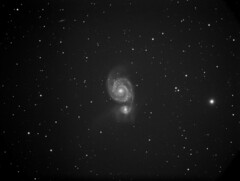 M51- Whirlpool Galaxy (lmamakos) Tags: galaxy m51 deepsky