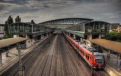 railway station (Michis Bilder) Tags: railwaystation hdr httpswwwfacebookcomhdrexperience