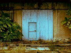 blue gate - aged soul (olipennell) Tags: germany tor potsdam gebude potsdamtrip2013