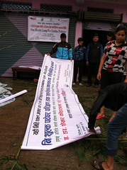 Health Camp Prep (The Advocacy Project) Tags: nepal camp people nature rural project justice women asia peace social womens medical health human rights medicine care fellowship fellows prolapse advocacy uterine