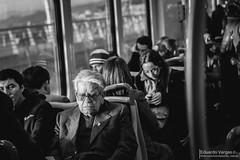 (. . .) Tags: chile sleeping people train tren 50mm valparaiso metro v region trasporte