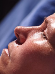 SLEEPING IN THE SUN (David P Southern) Tags: sleeping spain fuerteventura sunbathe