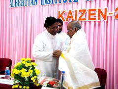 "AISAT Engineering College, Kerala - Chev. Dr. Tony Fernandez, the towering personality in the field of Ophthalmology, honoured at AISAT during 'KAIZEN - 2014' held on June 12, 2014 • <a style=""font-size:0.8em;"" href=""http://www.flickr.com/photos/98005749@N06/14540305626/"" target=""_blank"">View on Flickr</a>"