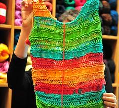 Summer colors (sifis) Tags: wool sweater nikon knitting top knit athens greece cotton lang pullover 2470 handkniting sakalak woolshop d700 sakalakwool