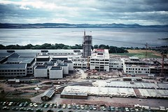 Ninewells Hospital (Dundee City Archives) Tags: old architecture modern hospital river construction photos dundee tay nhs 1960s ninewells olddundeephotos