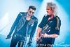 Queen with Adam Lambert @ North American Tour, The Palace Of Auburn Hills, Auburn Hills, MI - 07-12-14