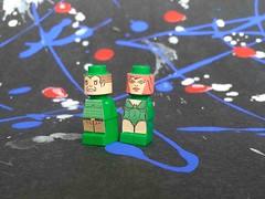 Sandman, Poison Ivy (HeroicaForge) Tags: lego spiderman ironman superman xmen wonderwoman batman greenlantern wolverine justiceleague aquaman theflash legosuperhero