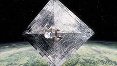 Surrey University's RemoveDebris test satellite