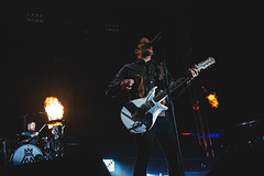 Fall Out Boy (Dalton Bartlett Photography) Tags: boy ohio music fall festival out photography concert fireworks cincinnati patrick stump pete pyro bunbury wentz 2014