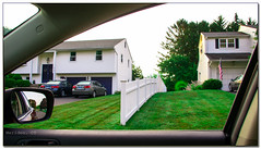 (31/365) Meriden, CT on Overlook Dr. (Pentax K-x Connecticut Man) Tags: homes house grass fence project pentax connecticut lawn ct photograph adobe whitepicketfence eastside pentaxkx meriden 365days 31365 justpentax pentaxart photoshopcs6 lightroom54