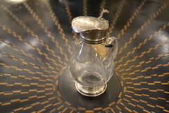 "Silver and Glass Creamer • <a style=""font-size:0.8em;"" href=""http://www.flickr.com/photos/51721355@N02/14733586364/"" target=""_blank"">View on Flickr</a>"