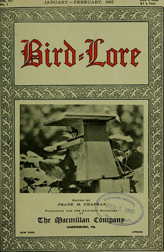 """Image from page 14 of """"Bird lore"""" (1899)"""