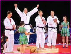 Scotland Glasgow Commonwealth Games Scotlands mens gold medal winner for Judo Chris Sherrington receiving his medal 26 July 2014 by Anne MacKay (Anne MacKay images of interest & wonder) Tags: chris judo by anne gold scotland 26 glasgow picture july games medal winner mackay commonwealth receiving 2014 scotlands sherrington