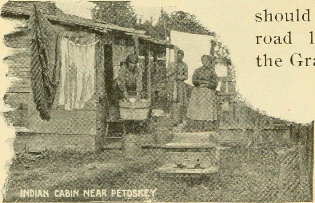 """Image from page 105 of """"Northern Michigan. Handbook for travelers, including the northern part of lower Michigan, Mackinac island, and the Sault Ste. Marie river .."""" (1898)"""
