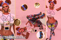 Pieces of Me... (Ms. Vivacious) Tags: identity blaise luxury theshowroom chapterfour highrize mangafair coldambitionz