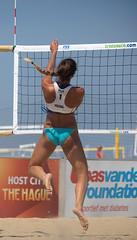 P7170700 (roel.ubels) Tags: beach sport denhaag beachvolleyball volleyball thehague volleybal 2014 worldtour beachvolleybal fivb