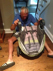 "Bob Winkler Tries to Solve Paul's Stroller • <a style=""font-size:0.8em;"" href=""http://www.flickr.com/photos/109120354@N07/14798728403/"" target=""_blank"">View on Flickr</a>"