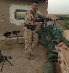 . (Kurdistan Photo ) Tags: refugee revolution erbil  uprising unhcr      peshmerga  yazidis  peshmerge    yezidism        genocideanfal wen