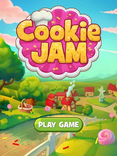 Cookie Jam Main Menu: screenshots, UI