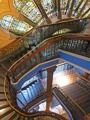 Sydney::Stairway @ Queen Victoria Building (mike_s_etc) Tags: stairway queenvictoriabuilding qvb sydney australia