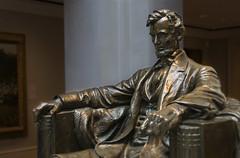Lincoln (BenBuildsLego) Tags: lincoln abraham bronze statue