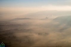 Hope Cement Works (James G Photography) Tags: uploadedviaflickrqcom mamtor peaks peakdistrict hopevalley derbyshire cementworks castleton greatridge mist peak sunrise winhill england unitedkingdom gb