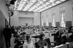 Berliner Abgeordnetenhaus 21.2.1982 (rieblinga) Tags: berliner abgeordnetenhaus rathaus schöneberg 1982 sw ilford hp 5