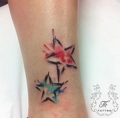 Tatuaje Stelute/ Stars Tattoo (TH Tattoo - Salon tatuaje Bucuresti) Tags: watercolortattoo tatuaj tatuajefete tatuaje color tatuajebucuresti salontatuaje saloncismigiu salontatuajesalapalatului salontatuajesector1