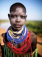 Etiopia (mokyphotography) Tags: etiopia ethnicity etnia ethnicgroup southetiopia africa karo omovalley omoriver omo tribù tribe tribal people portrait persone person ritratto travel