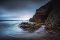Misty Vortex (Augmented Reality Images (Getty Contributor)) Tags: canon cave cliffs clouds coastline colours landscape leefilters longexposure morayfirth portknockie rocks scotland water waves
