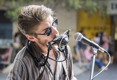 Lucky Moore 2017-03-26 (5D_32A6372) (ajhaysom) Tags: busker luckymoore bourkestmall singer streetportraits melbourne australia canoneos5dmkiii canon24105l