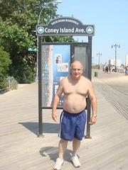 dr. aristoteles berenzon, coney island (branko_) Tags: doctor aristoteles berenzon brooklyn coney island dentista brasil sao paulo boardwalk