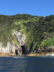 Breaksea Islands, Bathurst Channel. South West Tasmania.
