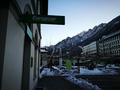 Europcar sign
