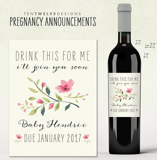 What a cool baby announcement!   Once your baby is born have a Sip n See! For more information click on the link below!  http://www.birthbabyandbeyond.biz/sip-n-see/  #babybump #pregnancy #parents #PMM #baby #toddler #embarazo #childbirth #labor #contract