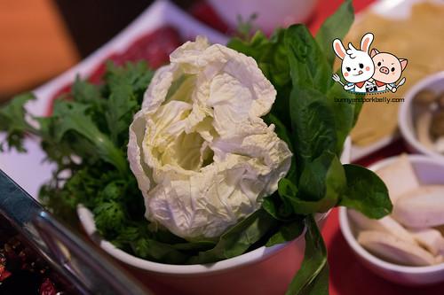 Vegetables combo - 茼蒿,菠菜,大白菜,油麦菜